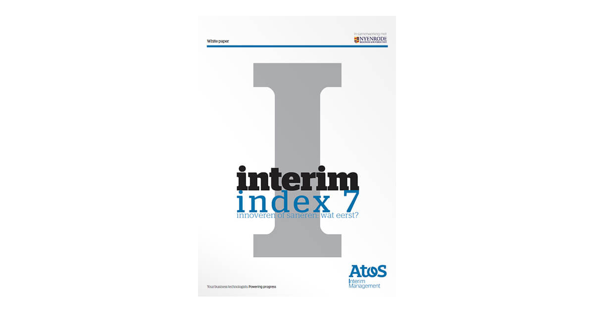 InterimIndexInterim Index 7 | Onderzoeksrapporten | Interim Management & Search Management | Schaekel & Partners