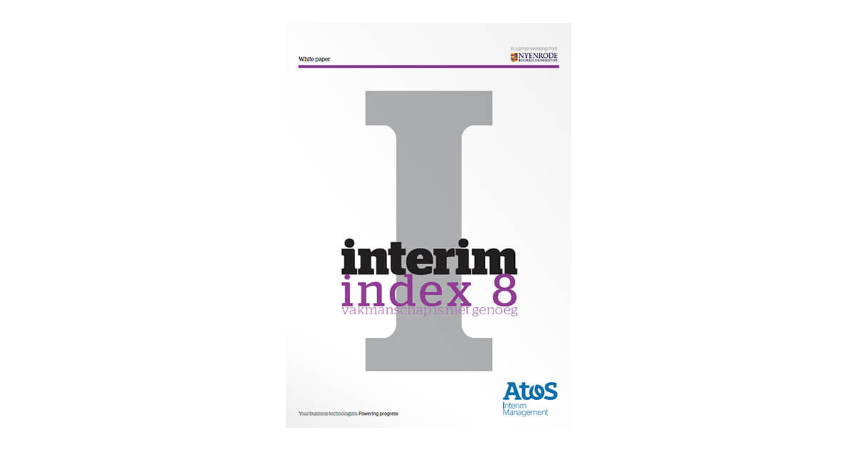 interim index 8 | Onderzoeksrapporten | Interim Management & Search Management | Schaekel & Partners