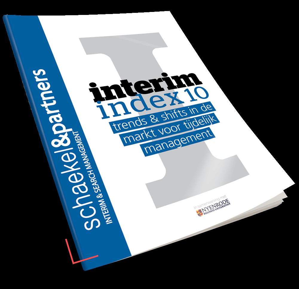 interim index 10 | Onderzoeksrapporten | Interim Management & Search Management | Schaekel & Partners