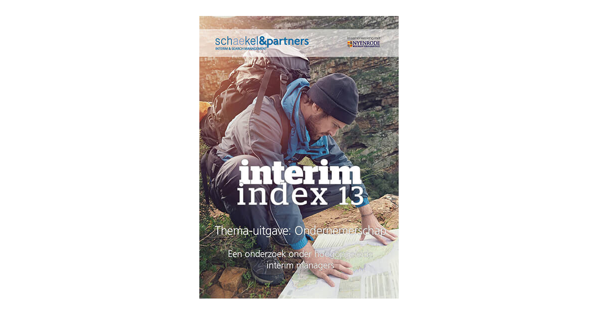 interim index 13 | Onderzoeksrapporten | Interim Management & Search Management | Schaekel & Partners