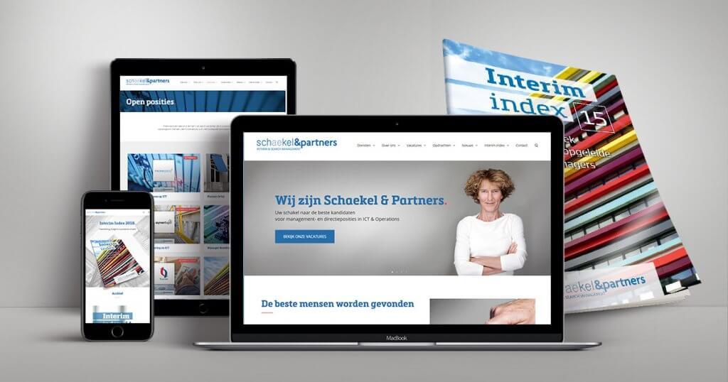 Nieuwe website schaekel & Partners