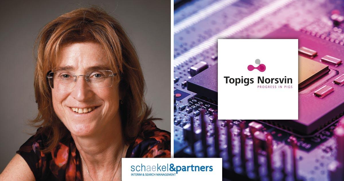 Els van Eekelen | benoeming | Topigs | Schaekel & Partners
